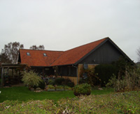 Gult murstenshus