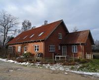 Rødt murstenshus
